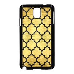 Tile1 Black Marble & Gold Brushed Metal (r) Samsung Galaxy Note 3 Neo Hardshell Case (black) by trendistuff