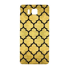 Tile1 Black Marble & Gold Brushed Metal (r) Samsung Galaxy Alpha Hardshell Back Case by trendistuff