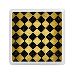 Square2 Black Marble & Gold Brushed Metal Memory Card Reader (square)