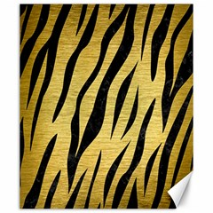 Skin3 Black Marble & Gold Brushed Metal (r) Canvas 20  X 24  by trendistuff