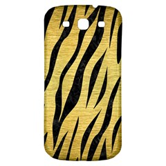 Skin3 Black Marble & Gold Brushed Metal (r) Samsung Galaxy S3 S Iii Classic Hardshell Back Case by trendistuff