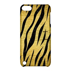 Skin3 Black Marble & Gold Brushed Metal (r) Apple Ipod Touch 5 Hardshell Case With Stand by trendistuff