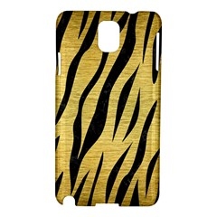 Skin3 Black Marble & Gold Brushed Metal (r) Samsung Galaxy Note 3 N9005 Hardshell Case by trendistuff