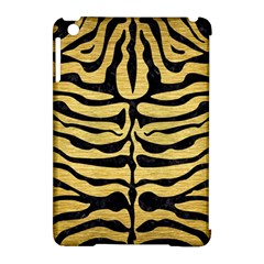 SKIN2 BLACK MARBLE & GOLD BRUSHED METAL (R) Apple iPad Mini Hardshell Case (Compatible with Smart Cover)