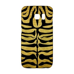 SKIN2 BLACK MARBLE & GOLD BRUSHED METAL (R) Samsung Galaxy S6 Edge Hardshell Case