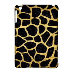 Skin1 Black Marble & Gold Brushed Metal (r) Apple Ipad Mini Hardshell Case (compatible With Smart Cover) by trendistuff