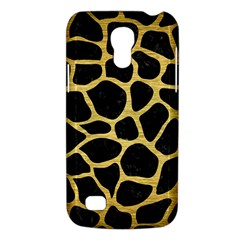 Skin1 Black Marble & Gold Brushed Metal (r) Samsung Galaxy S4 Mini (gt I9190) Hardshell Case  by trendistuff