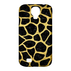 Skin1 Black Marble & Gold Brushed Metal (r) Samsung Galaxy S4 Classic Hardshell Case (pc+silicone) by trendistuff