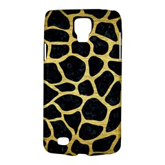 Skin1 Black Marble & Gold Brushed Metal (r) Samsung Galaxy S4 Active (i9295) Hardshell Case by trendistuff