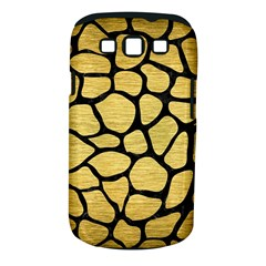 Skin1 Black Marble & Gold Brushed Metal Samsung Galaxy S Iii Classic Hardshell Case (pc+silicone) by trendistuff