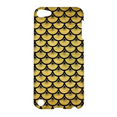 Scales3 Black Marble & Gold Brushed Metal (r) Apple Ipod Touch 5 Hardshell Case by trendistuff