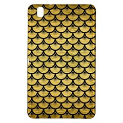 Scales3 Black Marble & Gold Brushed Metal (r) Samsung Galaxy Tab Pro 8 4 Hardshell Case by trendistuff