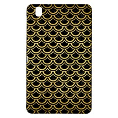Scales2 Black Marble & Gold Brushed Metal Samsung Galaxy Tab Pro 8 4 Hardshell Case