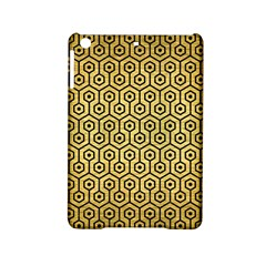 Hexagon1 Black Marble & Gold Brushed Metal (r) Apple Ipad Mini 2 Hardshell Case by trendistuff