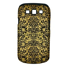 Damask2 Black Marble & Gold Brushed Metal (r) Samsung Galaxy S Iii Classic Hardshell Case (pc+silicone) by trendistuff