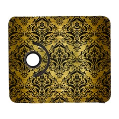 Damask1 Black Marble & Gold Brushed Metal (r) Samsung Galaxy S  Iii Flip 360 Case by trendistuff