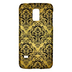 Damask1 Black Marble & Gold Brushed Metal (r) Samsung Galaxy S5 Mini Hardshell Case  by trendistuff