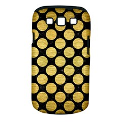 Circles2 Black Marble & Gold Brushed Metal Samsung Galaxy S Iii Classic Hardshell Case (pc+silicone) by trendistuff
