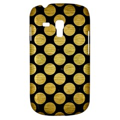 Circles2 Black Marble & Gold Brushed Metal Samsung Galaxy S3 Mini I8190 Hardshell Case by trendistuff