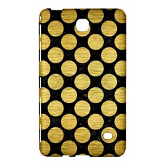 Circles2 Black Marble & Gold Brushed Metal Samsung Galaxy Tab 4 (7 ) Hardshell Case  by trendistuff