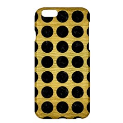 Circles1 Black Marble & Gold Brushed Metal (r) Apple Iphone 6 Plus/6s Plus Hardshell Case by trendistuff