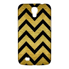Chevron9 Black Marble & Gold Brushed Metal (r) Samsung Galaxy Mega 6 3  I9200 Hardshell Case by trendistuff