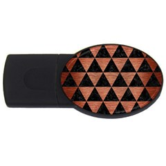 Triangle3 Black Marble & Copper Brushed Metal Usb Flash Drive Oval (2 Gb) by trendistuff