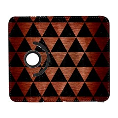 Triangle3 Black Marble & Copper Brushed Metal Samsung Galaxy S  Iii Flip 360 Case by trendistuff