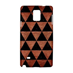 Triangle3 Black Marble & Copper Brushed Metal Samsung Galaxy Note 4 Hardshell Case by trendistuff