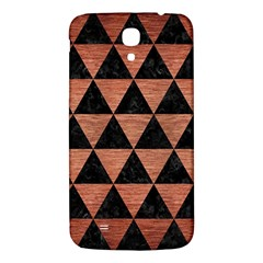 Triangle3 Black Marble & Copper Brushed Metal Samsung Galaxy Mega I9200 Hardshell Back Case by trendistuff