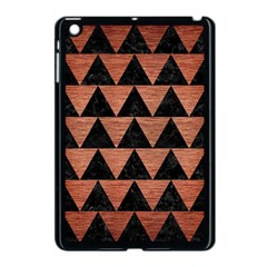 Triangle2 Black Marble & Copper Brushed Metal Apple Ipad Mini Case (black) by trendistuff