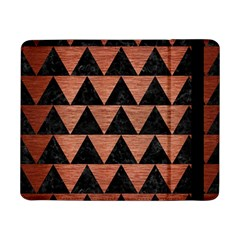 Triangle2 Black Marble & Copper Brushed Metal Samsung Galaxy Tab Pro 8 4  Flip Case by trendistuff