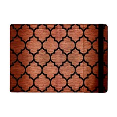 Tile1 Black Marble & Copper Brushed Metal (r) Apple Ipad Mini Flip Case by trendistuff
