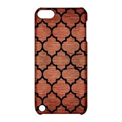 Tile1 Black Marble & Copper Brushed Metal (r) Apple Ipod Touch 5 Hardshell Case With Stand by trendistuff