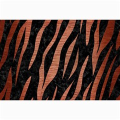 Skin3 Black Marble & Copper Brushed Metal Collage 12  X 18  by trendistuff