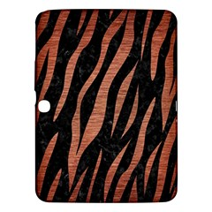 Skin3 Black Marble & Copper Brushed Metal Samsung Galaxy Tab 3 (10 1 ) P5200 Hardshell Case  by trendistuff