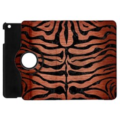 Skin2 Black Marble & Copper Brushed Metal (r) Apple Ipad Mini Flip 360 Case by trendistuff