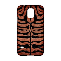 Skin2 Black Marble & Copper Brushed Metal (r) Samsung Galaxy S5 Hardshell Case  by trendistuff