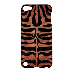Skin2 Black Marble & Copper Brushed Metal Apple Ipod Touch 5 Hardshell Case by trendistuff
