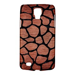Skin1 Black Marble & Copper Brushed Metal Samsung Galaxy S4 Active (i9295) Hardshell Case by trendistuff