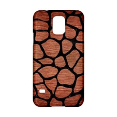 Skin1 Black Marble & Copper Brushed Metal Samsung Galaxy S5 Hardshell Case  by trendistuff