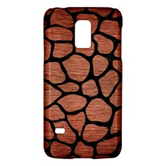 Skin1 Black Marble & Copper Brushed Metal Samsung Galaxy S5 Mini Hardshell Case