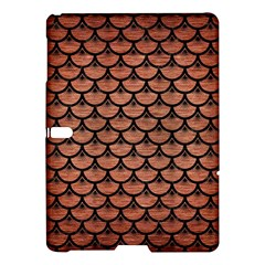 Scales3 Black Marble & Copper Brushed Metal (r) Samsung Galaxy Tab S (10 5 ) Hardshell Case  by trendistuff
