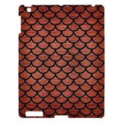 Scales1 Black Marble & Copper Brushed Metal (r) Apple Ipad 3/4 Hardshell Case by trendistuff