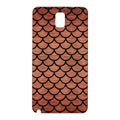 Scales1 Black Marble & Copper Brushed Metal (r) Samsung Galaxy Note 3 N9005 Hardshell Back Case by trendistuff