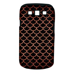 Scales1 Black Marble & Copper Brushed Metal Samsung Galaxy S Iii Classic Hardshell Case (pc+silicone) by trendistuff