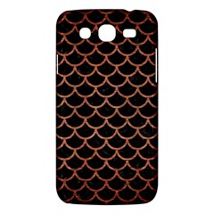 Scales1 Black Marble & Copper Brushed Metal Samsung Galaxy Mega 5 8 I9152 Hardshell Case  by trendistuff