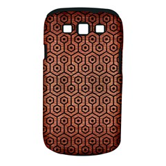 Hexagon1 Black Marble & Copper Brushed Metal (r) Samsung Galaxy S Iii Classic Hardshell Case (pc+silicone) by trendistuff