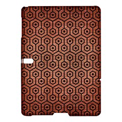 Hexagon1 Black Marble & Copper Brushed Metal (r) Samsung Galaxy Tab S (10 5 ) Hardshell Case  by trendistuff