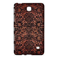 Damask2 Black Marble & Copper Brushed Metal (r) Samsung Galaxy Tab 4 (8 ) Hardshell Case